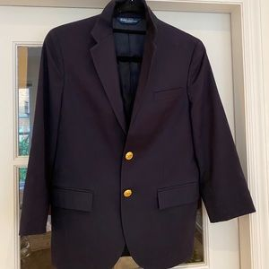 Polo By Ralph Lauren Navy Blazer - small to medium